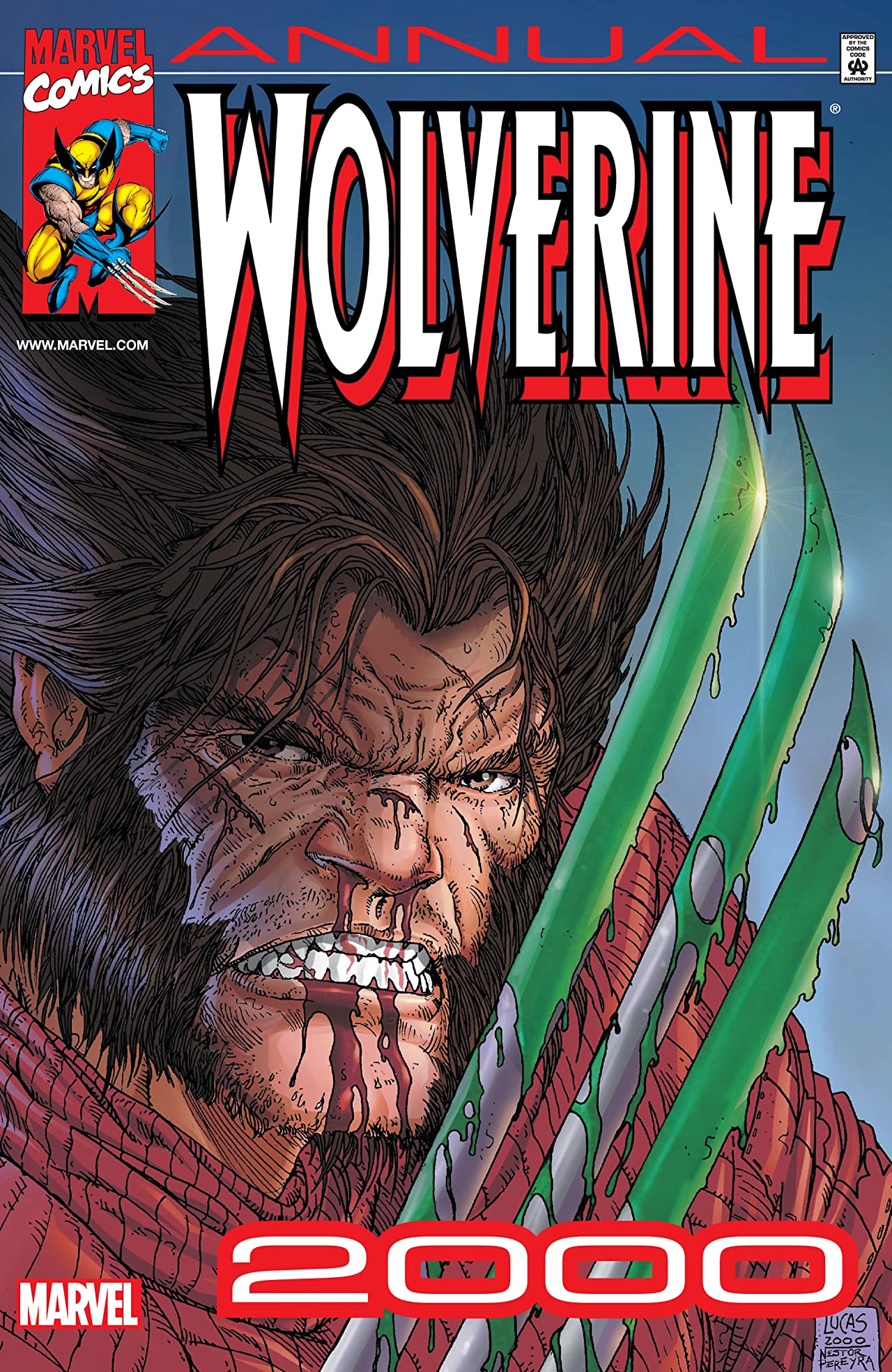 Wolverine Annual Vol 1 2000