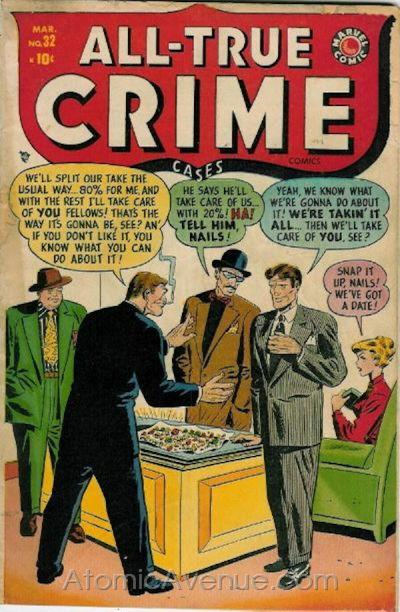 All True Crime Cases Comics Vol 1 32