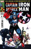 Captain America Iron Man Vol 1 3 Homage Variant