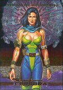Cerebra (Earth-928) from Marvel Masterpieces Trading Cards 1993 Set 0001