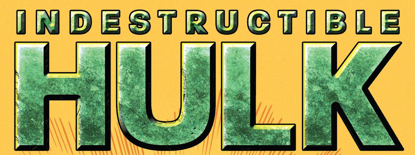 Indestructible Hulk Vol 1