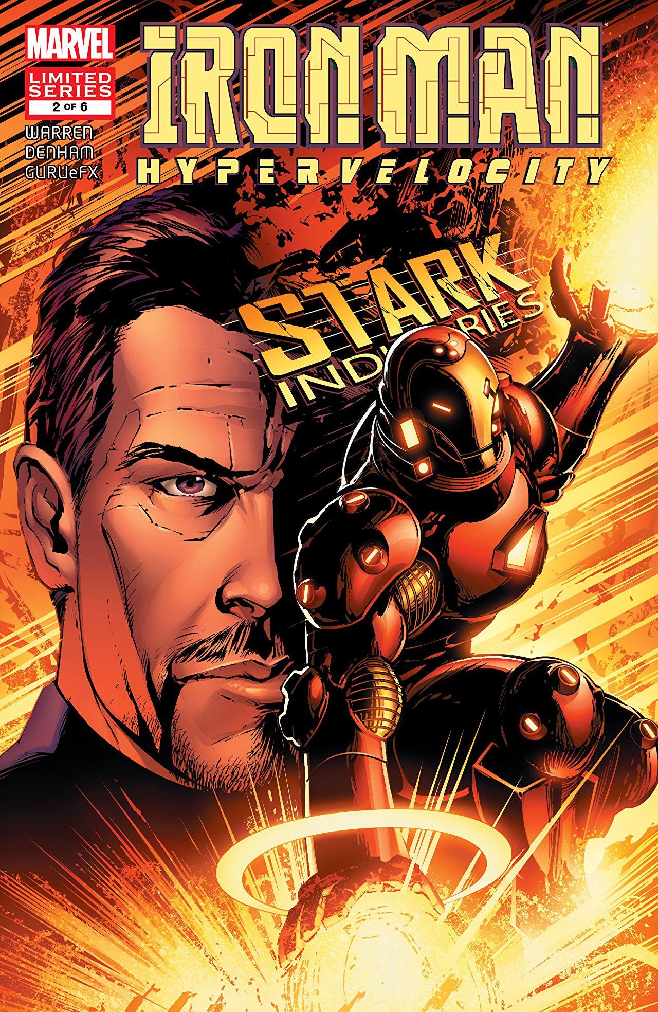 Iron Man: Hypervelocity Vol 1 2