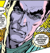 Karl Lykos (Earth-616) and the X-Men (Earth-616) from X-Men Vol 1 60 0001