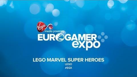 LEGO Marvel Super Heroes - EGX 2013
