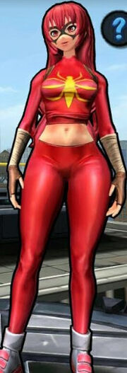 Mangaverse Spider-Woman (Mary Jane Watson) from Spider-Man Unlimited (video game) 002.jpg