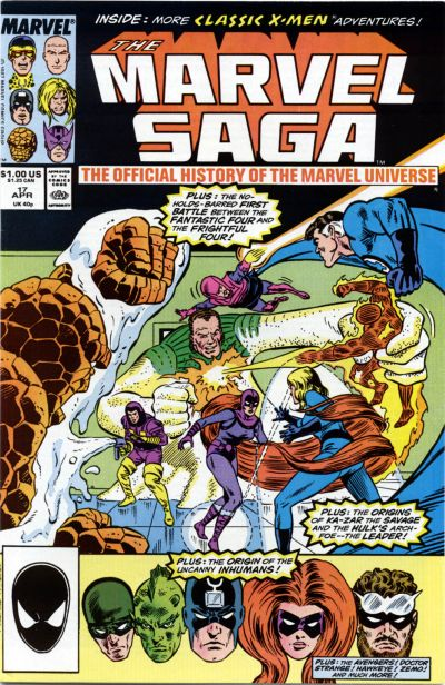 Marvel Saga the Official History of the Marvel Universe Vol 1 17