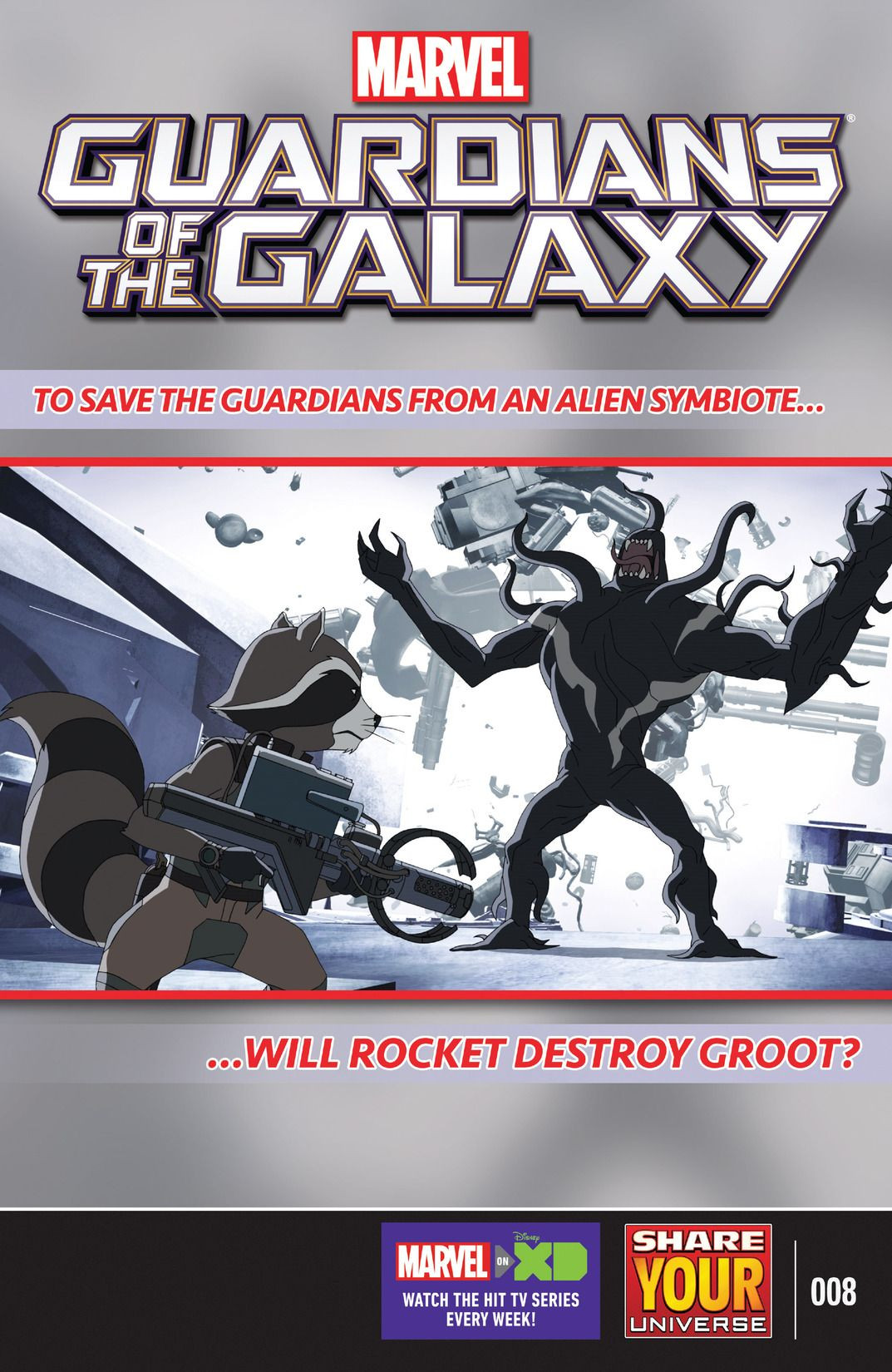 Marvel Universe Guardians of the Galaxy Vol 2 8
