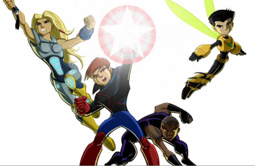 Next Avengers (Earth-555326)/Gallery