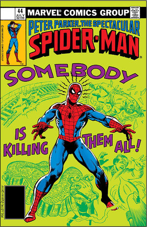Peter Parker, The Spectacular Spider-Man Vol 1 44.jpg