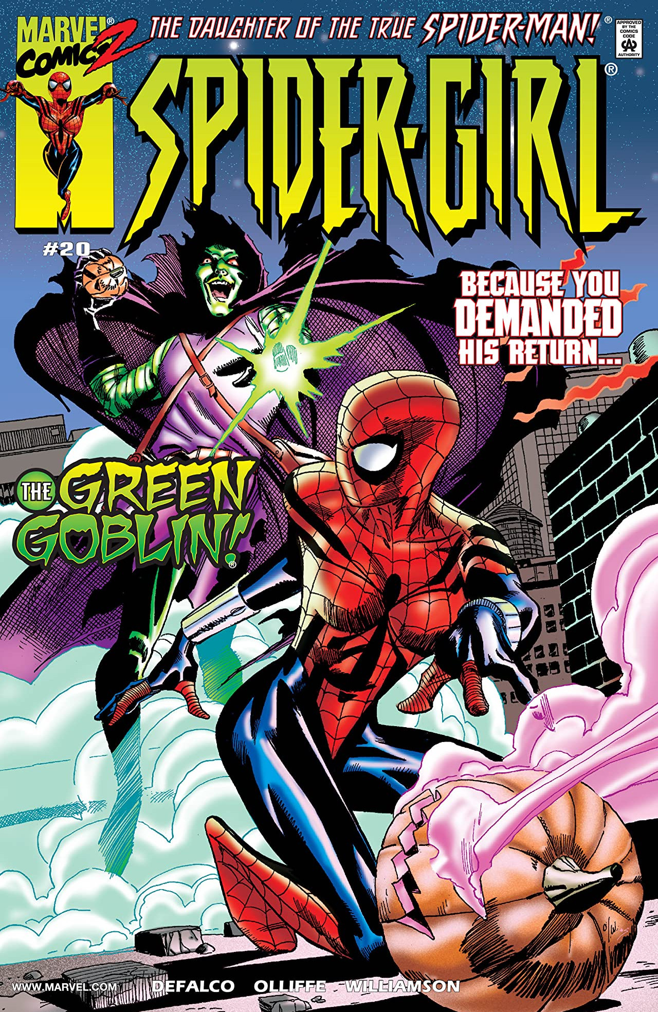 Spider-Girl Vol 1 20