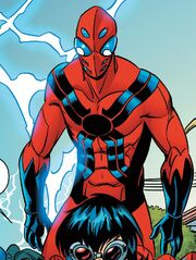 Spider-Man (Earth-Unknown) from Web Warriors Vol 1 9 001.jpg