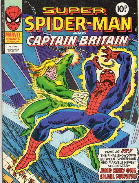 Super Spider-Man & Captain Britain Vol 1 246