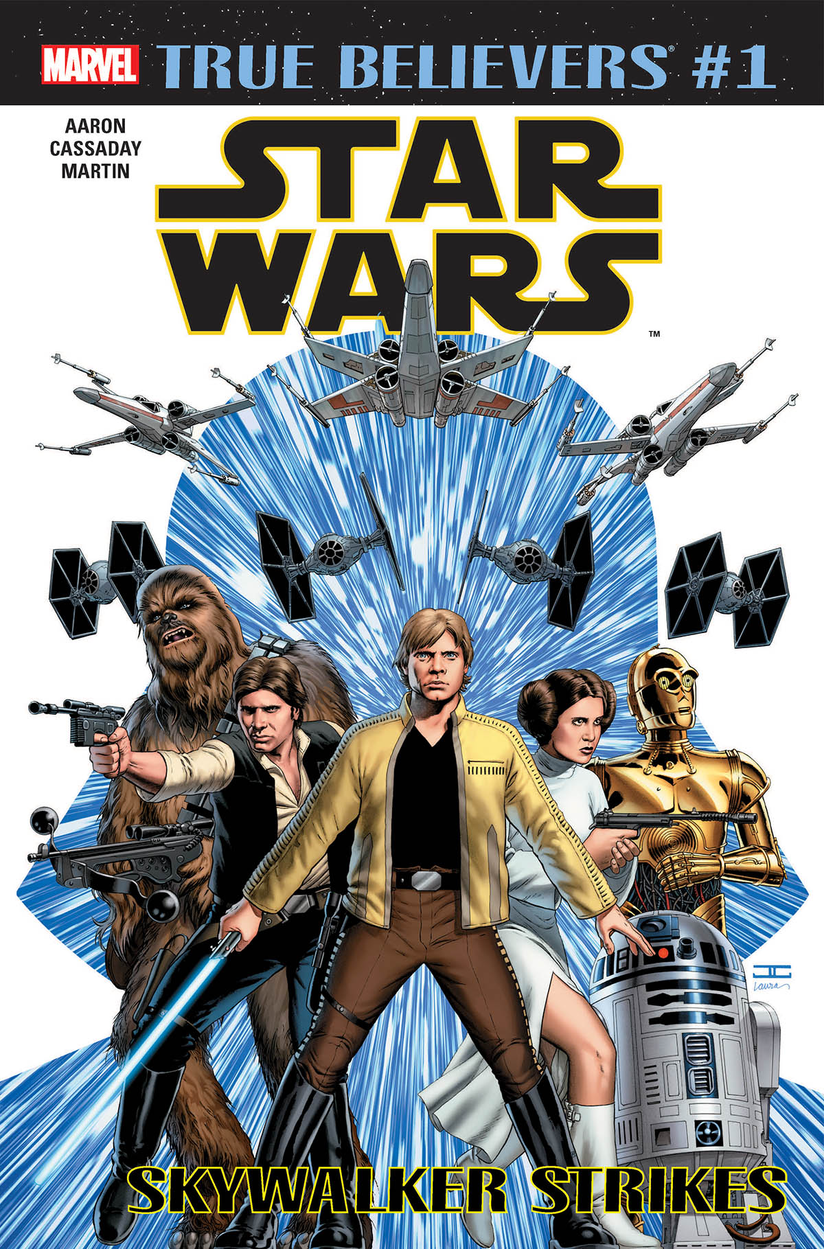 True Believers: Star Wars - Skywalker Strikes Vol 1 1