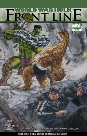 World War Hulk Front Line Vol 1 2.jpg
