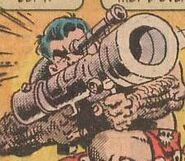 3.5 inch Baron-Williams rocket launcher and Frank Casket (Earth-9047) from What The--?! Vol 1 1 0001