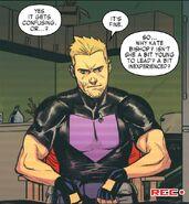 Clinton Barton (Earth-616) from West Coast Avengers Vol 3 1 001