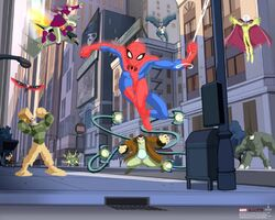 Earth-26496 from Spectacular Spider-Man (animated series) Promo 0001.jpg