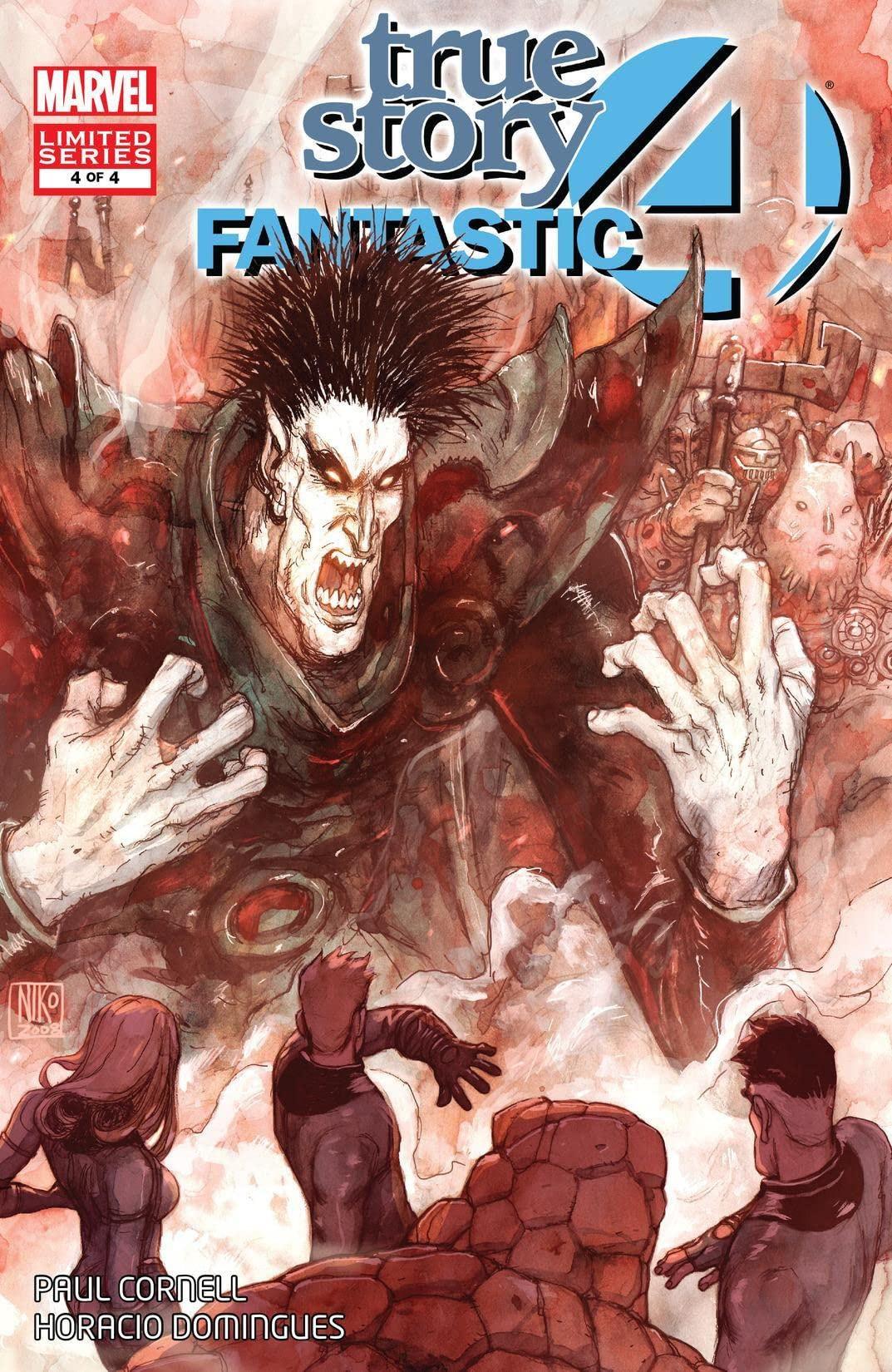 Fantastic Four: True Story Vol 1 4