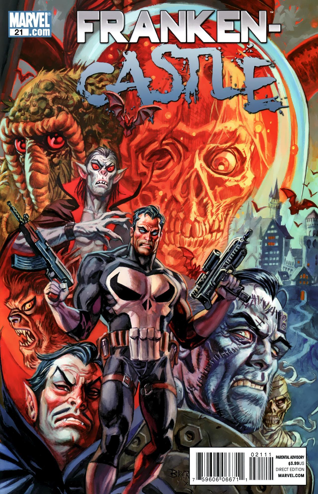 Franken Castle Vol 1 21 Marvel Database Fandom