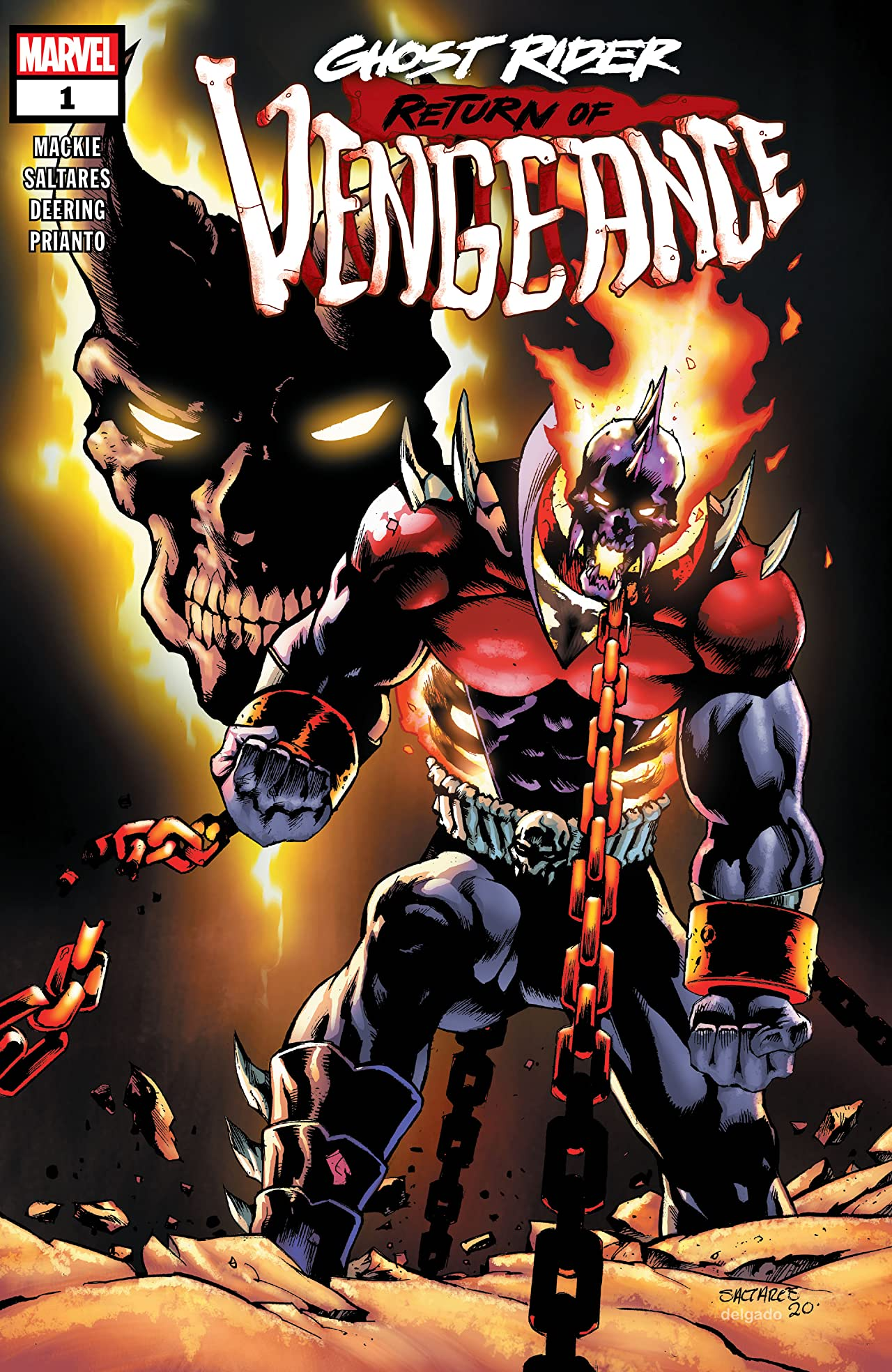 Ghost Rider: Return of Vengeance Vol 1 1