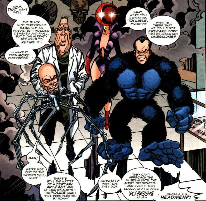 Headmen (Earth-616)/Gallery