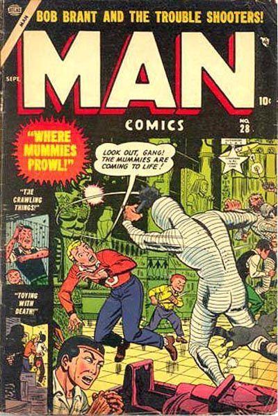 Man Comics Vol 1 28