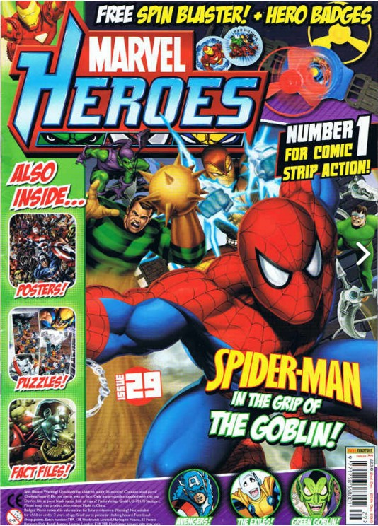 Marvel Heroes (UK) Vol 1 29