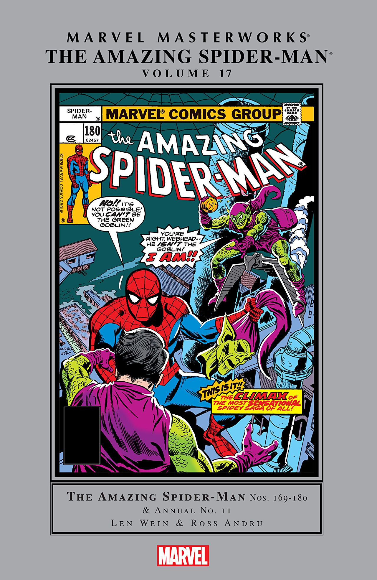 Marvel Masterworks: Amazing Spider-Man Vol 1 17