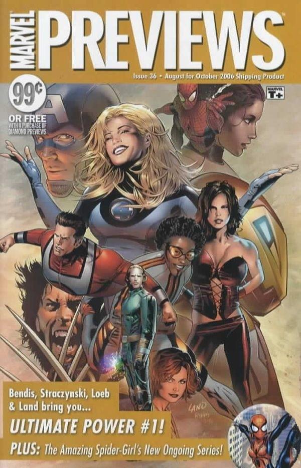 Marvel Previews Vol 1 36