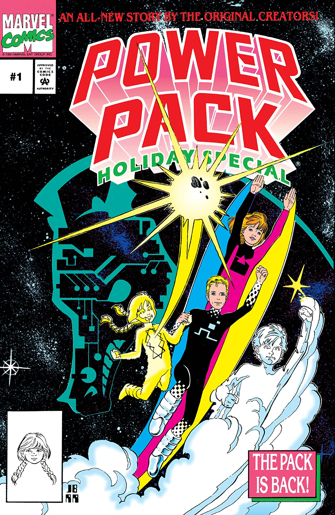 Power Pack Holiday Special Vol 1 1