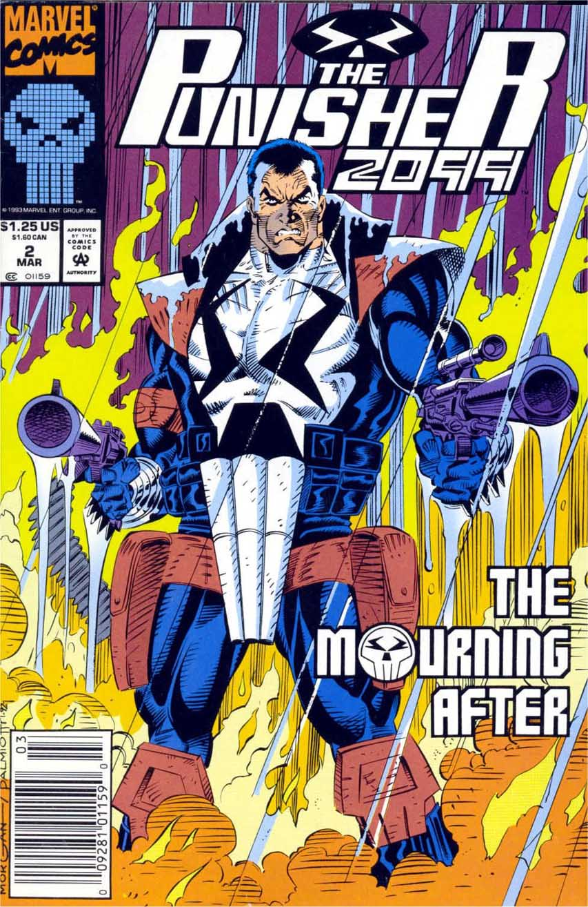 Punisher 2099 Vol 1 2