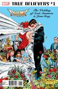 True Believers Phoenix Presents the Wedding of Scott Summers & Jean Grey Vol 1 1