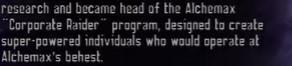 Alchemax Corporate Raider Program (Earth-TRN579)