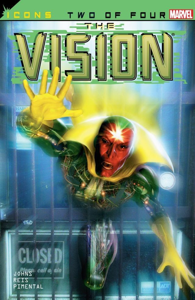 Avengers Icons: The Vision Vol 1 2