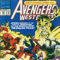 Avengers West Coast Vol 2 86