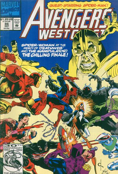 Avengers West Coast Vol 2 86