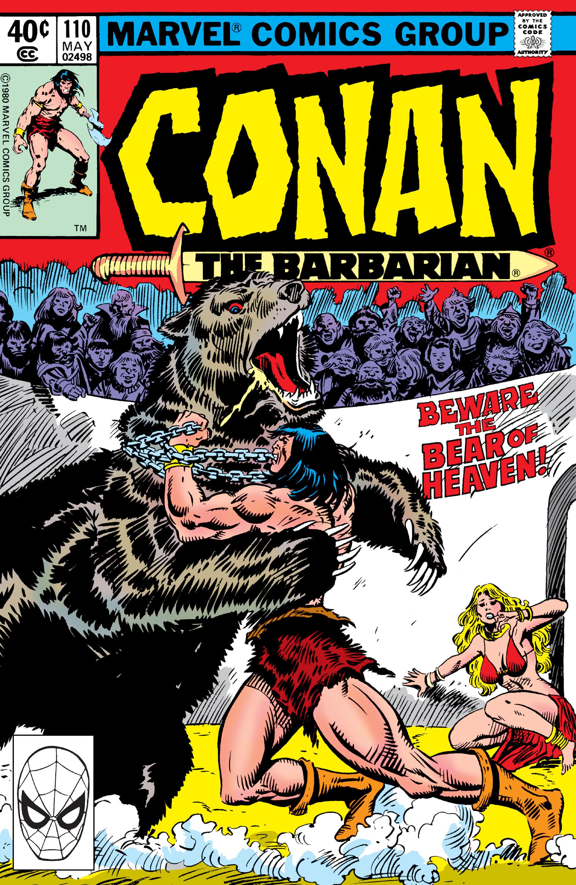 Conan the Barbarian Vol 1 110