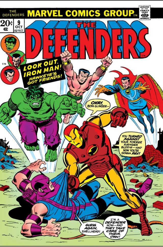 Defenders Vol 1 9