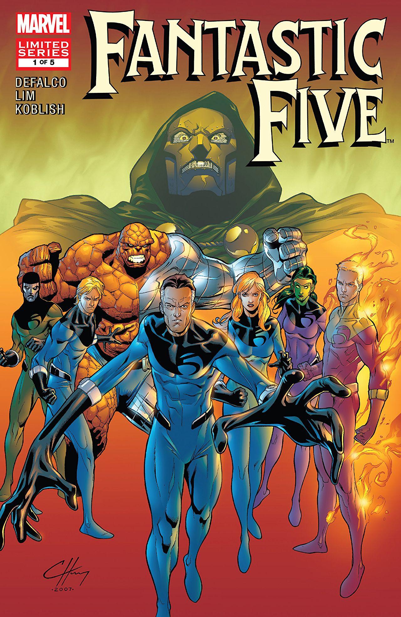 Fantastic Five Vol 2