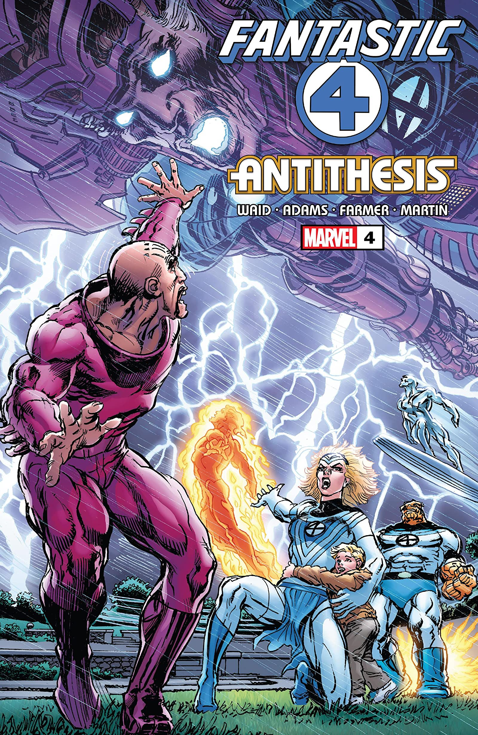 Fantastic Four: Antithesis Vol 1 4