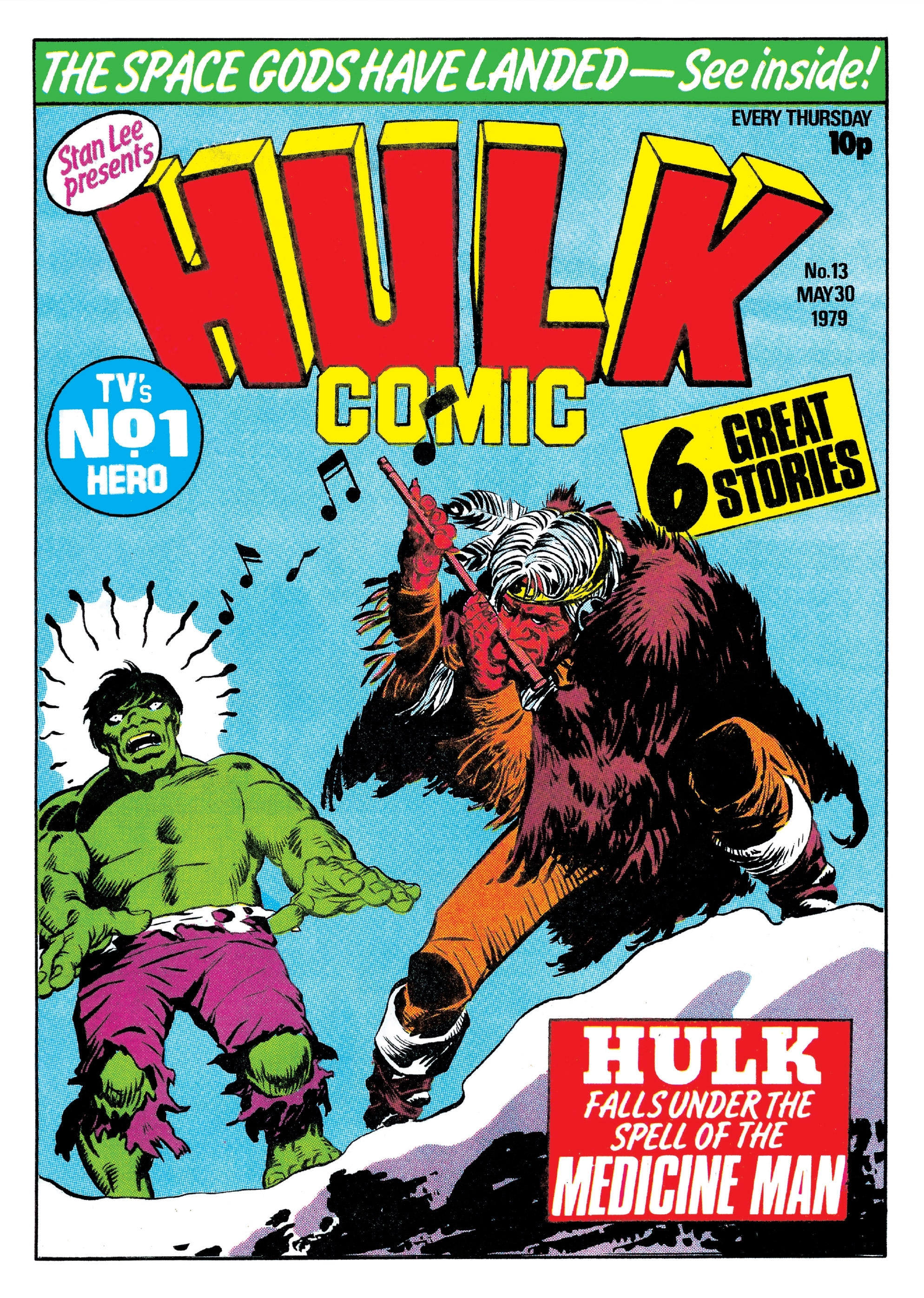 Hulk Comic (UK) Vol 1 13