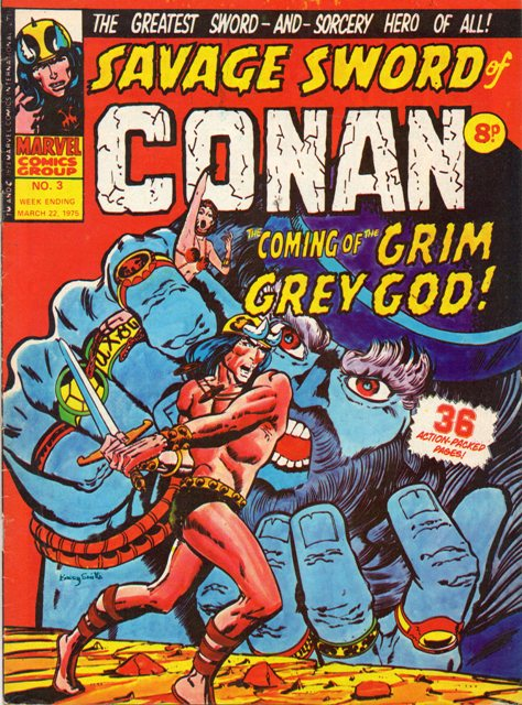 Savage Sword of Conan (Weekly) Vol 1