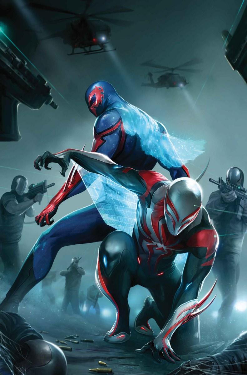 Spider-Man's 2099 Suit