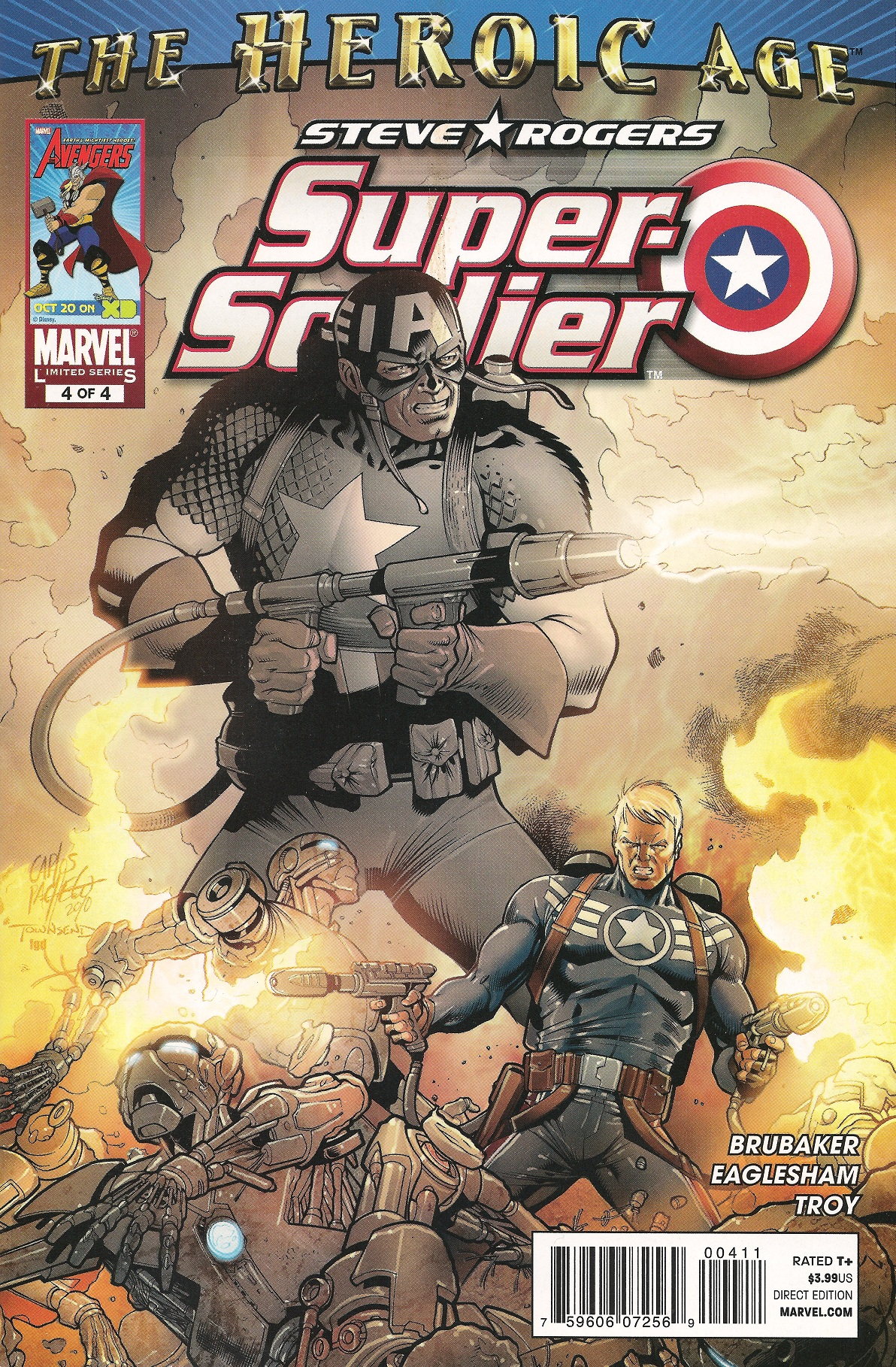 Steve Rogers: Super-Soldier Vol 1 4