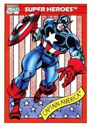 Steven Rogers (Earth-616) from Marvel Universe Cards Series I 0001