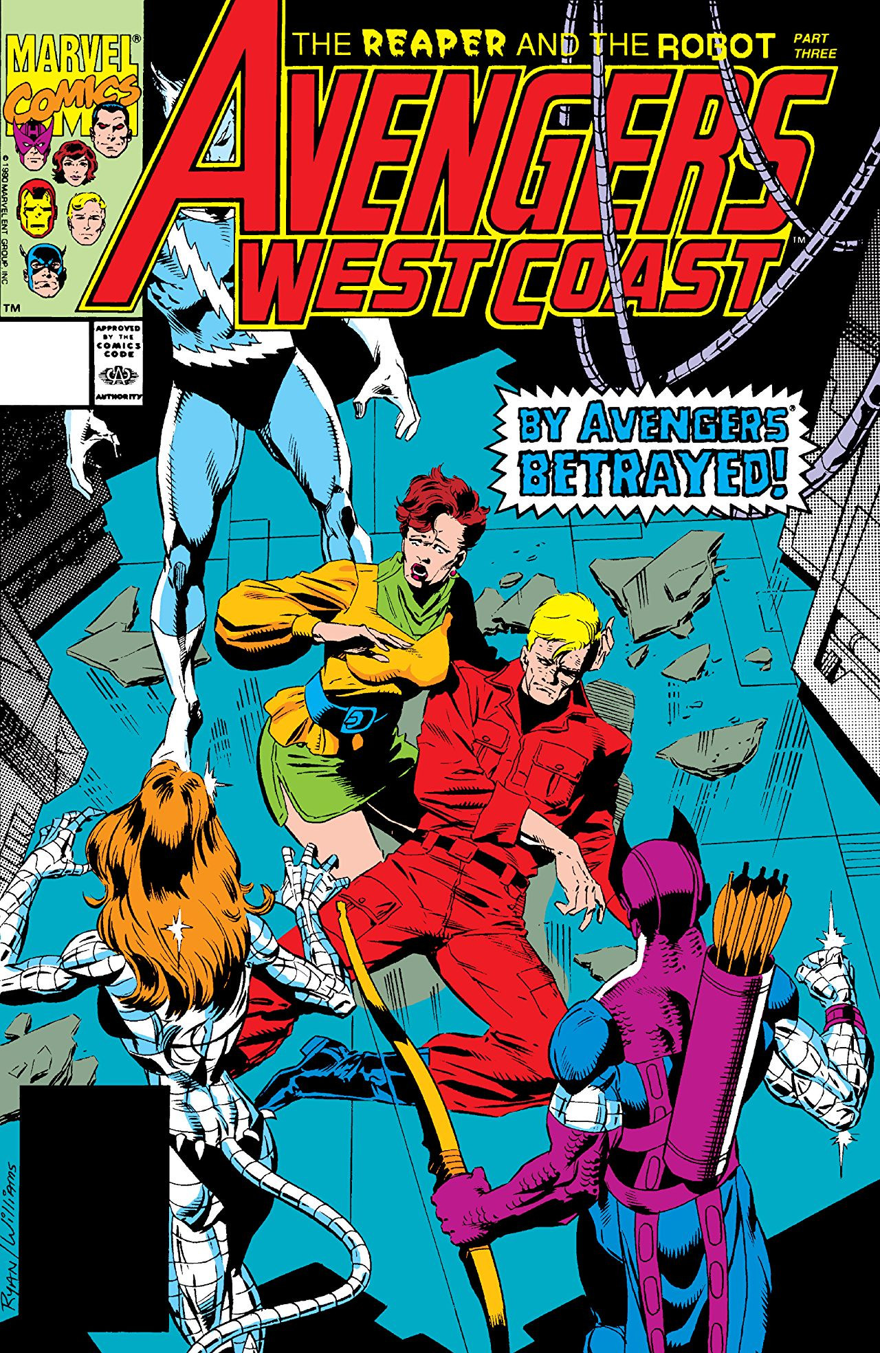 Avengers West Coast Vol 2 67
