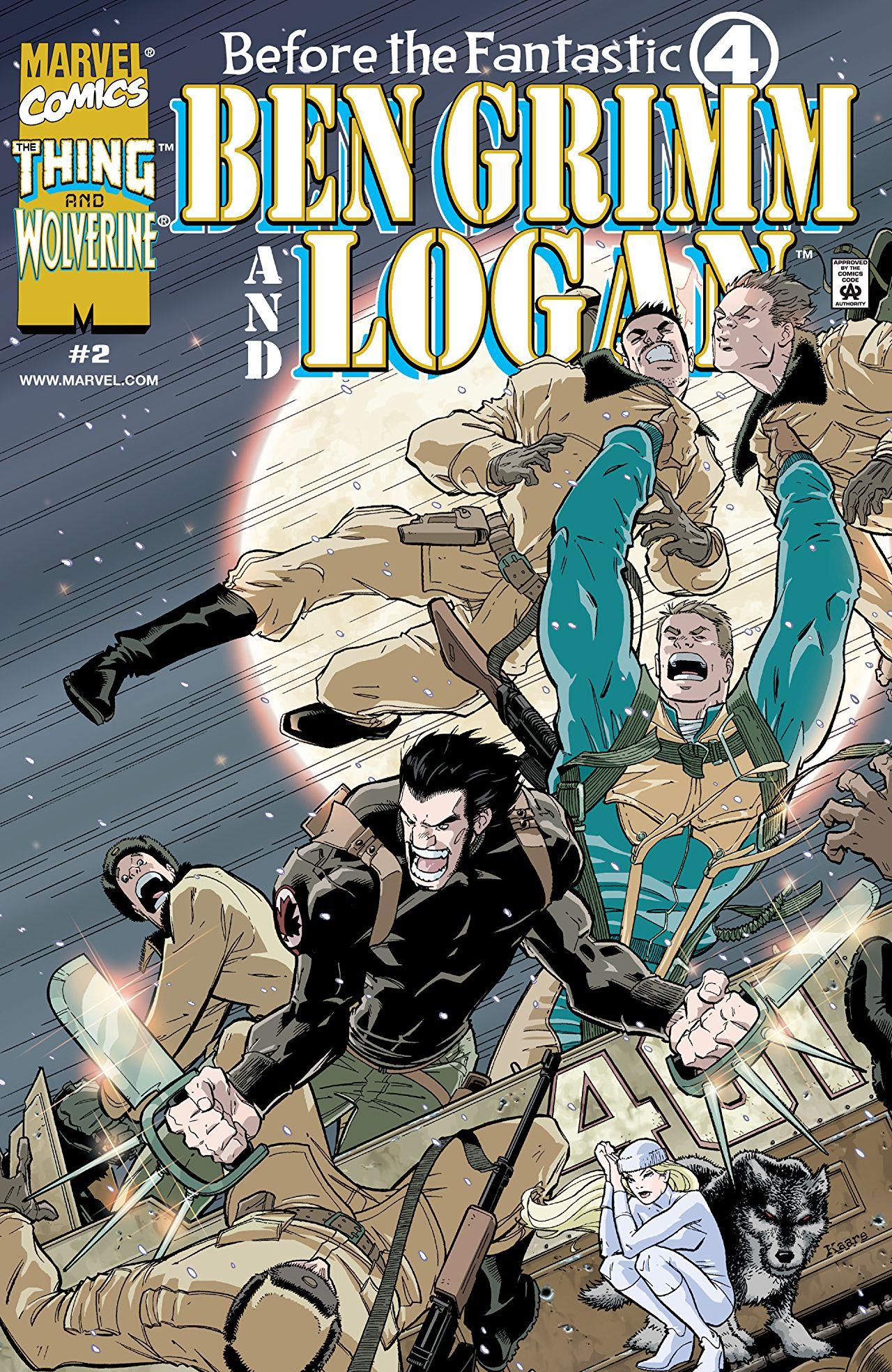 Before the Fantastic Four: Ben Grimm and Logan Vol 1 2