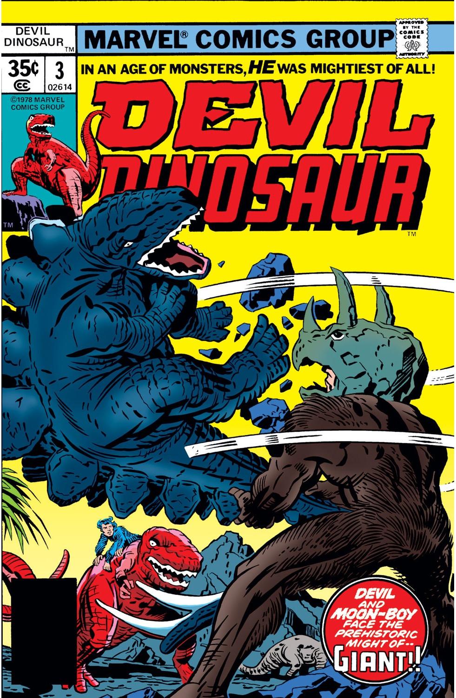 Devil Dinosaur Vol 1 3