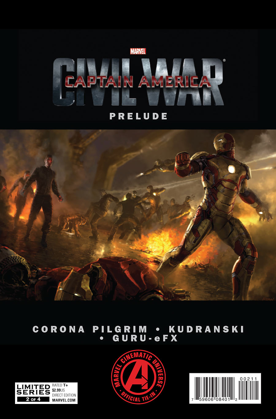 Marvel's Captain America: Civil War Prelude Vol 1 2