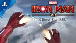 Marvel's Iron Man VR – Demo Trailer PS VR